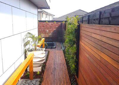 Wooden Decking Landscaping